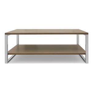 bàn inox mặt gỗ