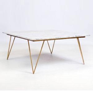 bàn tròn inox si vàng 3