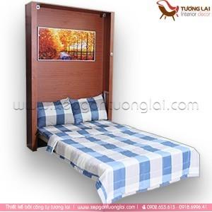 Gia công Ván MFC- Giường Ngủ gấp gọn thông minh V3