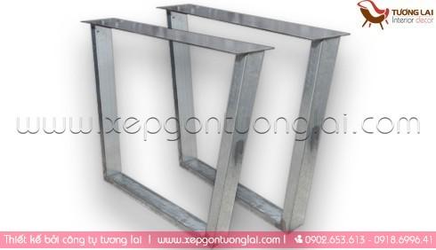 Gia công sắt inox -Chân bàn sắt nhà hàng