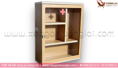 Gia công ván MFC- Tủ thuốc gia đình