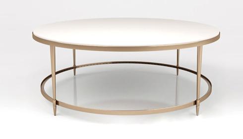 bàn tròn inox si vàng